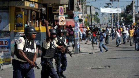 Haïti : violences lors d'une manifestation de l'opposition contre les résultats du 1er tour